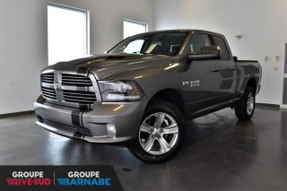 Used 2013 RAM 1500 SPORT QUAD - ENSEMBLE REMOR. + SUB ALPIN for sale in St-Jean-Sur-Richelieu, QC
