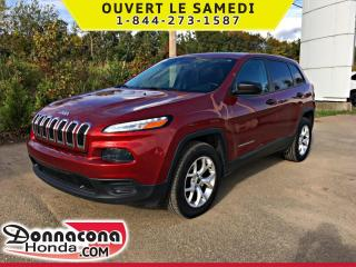 Used 2015 Jeep Cherokee Cherokee 4 RM 4 CYL*SPORT *CAMERA RECUL* for sale in Donnacona, QC