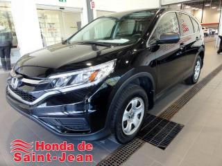 Used 2016 Honda CR-V 2 RM 5 portes LX Camera Sieges Chauffant for sale in St-Jean-Sur-Richelieu, QC