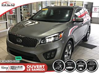 Used 2018 Kia Sorento SX V6 *7-PASSAGERS *TOIT *CUIR *CAMERA *AWD *A/C for sale in Québec, QC