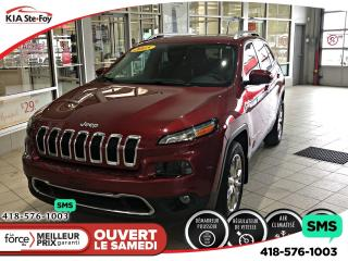 Used 2015 Jeep Cherokee Limited *4WD *BLUETOOTH *CRUISE *ÉCRAN *A/C for sale in Québec, QC