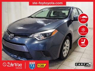 Used 2015 Toyota Corolla LE Sièges chauffants, Caméra recul for sale in Québec, QC