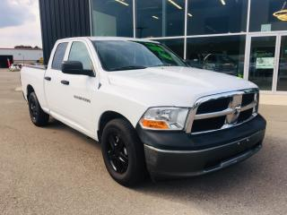 Used 2011 RAM 1500 ST, 4.7L, RWD, Quad Cab for sale in Ingersoll, ON