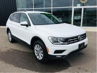 Used 2018 Volkswagen Tiguan Trendline, FWD, Heated Seats for sale in Ingersoll, ON
