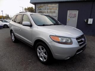 Used 2007 Hyundai Santa Fe ***LIMITED,4X4,CUIR,TOIT,MAGS,A/C*** for sale in Longueuil, QC