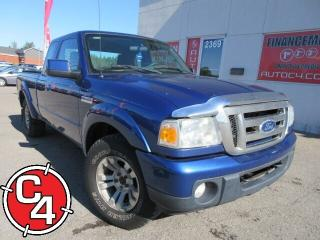 Used 2011 Ford Ranger Sport  4X4 V6 AUTOMATIQUE A/C MAG for sale in St-Jérôme, QC