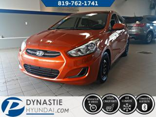 Used 2015 Hyundai Accent GL for sale in Rouyn-Noranda, QC