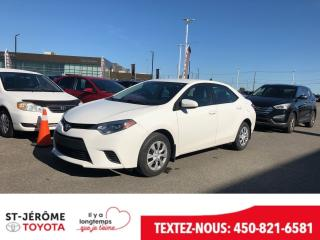 Used 2016 Toyota Corolla * * AIR * 57 000 KM * for sale in Mirabel, QC