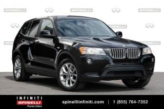Used 2014 BMW X3 XDrive28i / AWD / GPS / SIEGES CHAUFFANT XDrive28i / AWD / GPS / SIEGES CHAUFFANT for sale in Montréal, QC