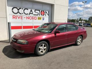 Used 2005 Chevrolet Impala AIr climatisé for sale in Boisbriand, QC