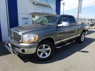 Used 2006 Dodge Ram 1500 SLT 4x4, Quad Cab, Sunroof, Low Kms, Must See!! for sale in Langley, BC