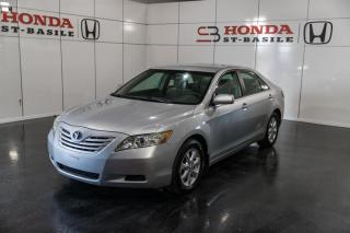 Used 2007 Toyota Camry BLE + CRUISE + JAMAIS ACCIDENTÉ + WOW !! for sale in St-Basile-le-Grand, QC