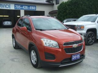 Used 2015 Chevrolet Trax LT for sale in Beaverton, ON