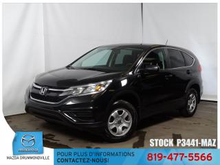 Used 2015 Honda CR-V LX|AIRCLIM|GRÉLEC|REGVIT| for sale in Drummondville, QC
