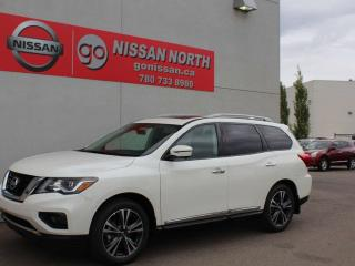Used 2019 Nissan Pathfinder Platinum/AWD/COOLED SEATS/PANO ROOF for sale in Edmonton, AB