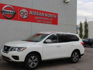 Used 2019 Nissan Pathfinder S/AWD/PUSH START/BACKUP CAM for sale in Edmonton, AB