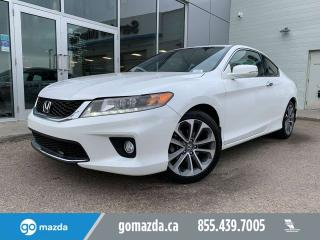Used 2015 Honda Accord Coupe EX-L w/Navi V6 AUTO COUPE VERY NICE for sale in Edmonton, AB