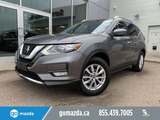 Used 2018 Nissan Rogue SV AWD SUNROOF B/U CAM HEATED SEATS for sale in Edmonton, AB