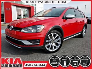 Used 2017 Volkswagen Golf Alltrack TSI 4Motion ** CUIR / TOIT / MA for sale in St-Hyacinthe, QC