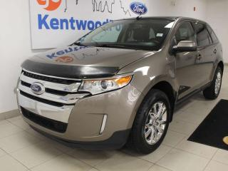 Used 2013 Ford Edge SEL AWD, sunroof, heated power leather seats, push start/stop, back up cam and keyless entry for sale in Edmonton, AB