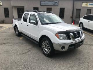 Used 2010 Nissan Frontier 4WD Crew Cab LWB LE,LEATHER,SUNROOF!BACK UP CAMERA for sale in Burlington, ON