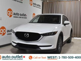 Used 2018 Mazda CX-5 Gs, 2.5L I4, Fwd, Navigation, Leather/Cloth heated seats, Heated steering wheel, Backup camera, Bluetooth for sale in Edmonton, AB