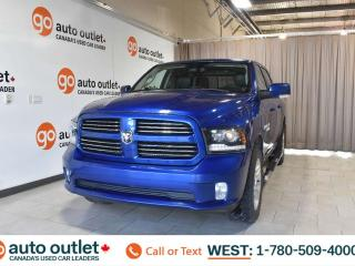 Used 2017 RAM 1500 Sport, 5.7L V8, 4x4, Crew cab, Short box, Tow/Haul, Cloth/Leather seats, Backup camera, Bluetooth for sale in Edmonton, AB
