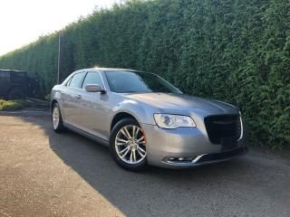 Used 2017 Chrysler 300 TOURING + NAV + LEATHER HEATED FT SEATS + DUAL-PANE SUNROOF + NO EXTRA DEALER FEES for sale in Surrey, BC