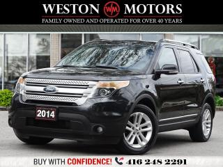 Used 2014 Ford Explorer XLT*4WD*7PASS*LEATHER*REV CAM*PAN SUNROOF!!* for sale in Toronto, ON