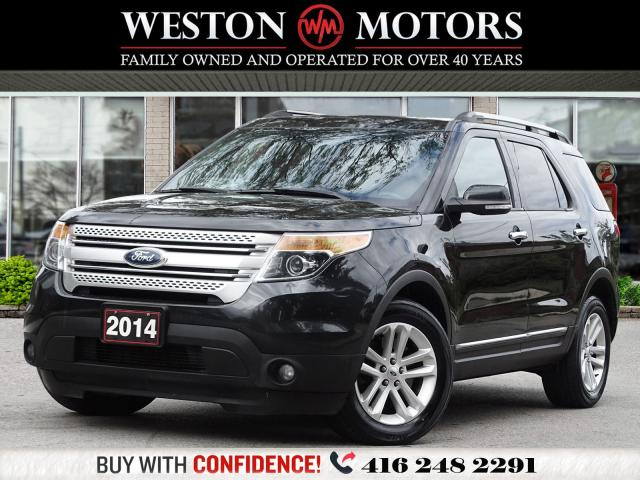 2014 Ford Explorer XLT*4WD*7PASS*LEATHER*REV CAM*PAN SUNROOF!!*