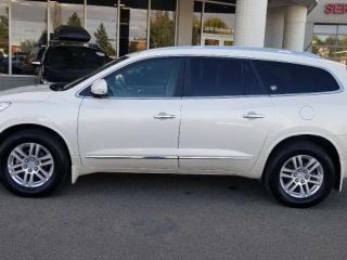 Used 2014 Buick Enclave ENCLAVE; LOW KMS, 7PASS, BLUETOOTH, BACKUP CAM, POWER TAILGATE AND MORE for sale in Edmonton, AB