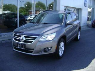 Used 2011 Volkswagen Tiguan COMFORTLINE 4Motion for sale in Cornwall, ON