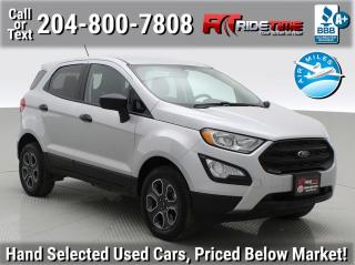 Used 2018 Ford EcoSport S for sale in Winnipeg, MB