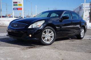 Used 2010 Infiniti G37 G37x AWD Very Clean Vehicle! for sale in Scarborough, ON