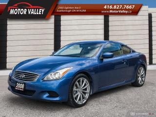 Used 2008 Infiniti G37 G37s Sport Very Clean No Accident! for sale in Scarborough, ON