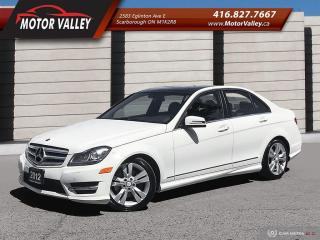 Used 2012 Mercedes-Benz C-Class C 300 4MATIC Navigation B.Up Cam, Pano-Roof. for sale in Scarborough, ON