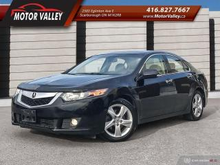 Used 2010 Acura TSX w/Premium Pkg *No Accident* Mint! for sale in Scarborough, ON
