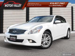 Used 2011 Infiniti G37 G37x AWD Very Clean Vehicle! for sale in Scarborough, ON