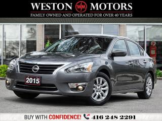 Used 2015 Nissan Altima 2.5*POWER GROUP*REVERSE CAMERA!!*WOW ONLY 97KMS!! for sale in Toronto, ON