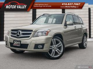 Used 2011 Mercedes-Benz GLK-Class GLK 350 4MATIC *Low Km* No Accident! for sale in Scarborough, ON