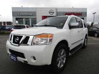 Used 2012 Nissan Armada Platinum Edition for sale in Timmins, ON