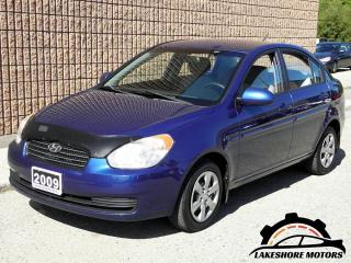 Used 2009 Hyundai Accent AUTO GL || CERTIFIED || SEDAN for sale in Waterloo, ON