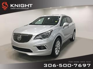 Used 2017 Buick Envision Premium I | Leather | Sunroof | Remote Start for sale in Regina, SK