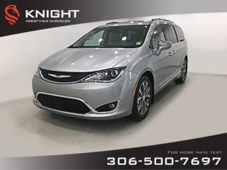 Used 2017 Chrysler Pacifica Limited | Sunroof | Navigation | DVD for sale in Regina, SK