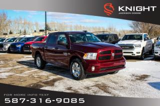 Used 2019 RAM 1500 Classic Express Crew Cab   Heated Seats and Steering Wheel   Remote Start for sale in Medicine Hat, AB