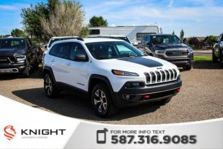Used 2016 Jeep Cherokee Trailhawk - Remote Start, Leather, Touchscreen for sale in Medicine Hat, AB