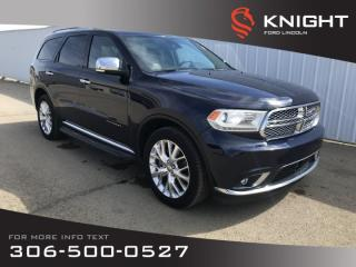 Used 2015 Dodge Durango Citadel for sale in Moose Jaw, SK