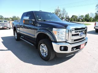 Used 2016 Ford F-250 Lariat. Leather. Loaded. Well oiled for sale in Gorrie, ON