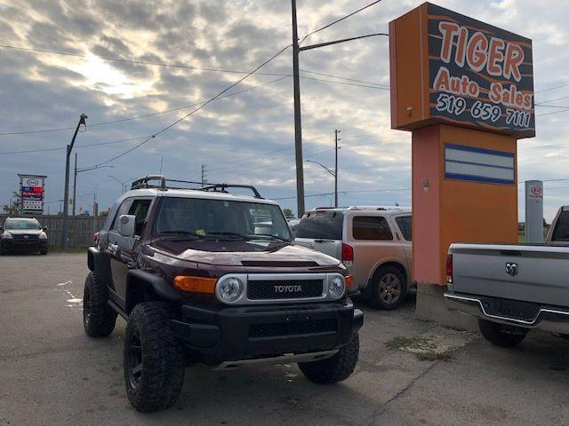 2007 Toyota FJ Cruiser **ONLY 127KMS**LIFTED**WHEELS**EXHAUST**RACK**CERT