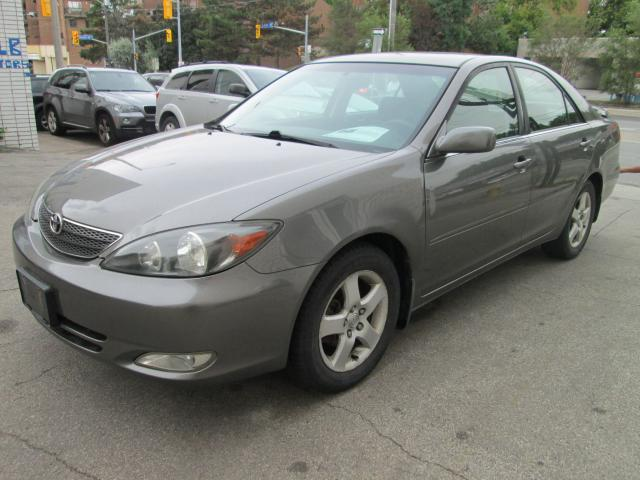 2003 Toyota Camry 2.4L No Accident  AC blows cold  Alloys wheels